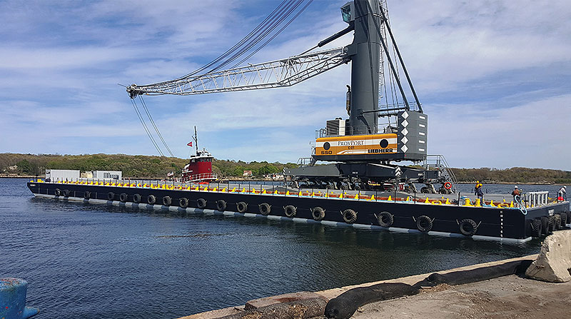 State of Rhode Island Deck Cargo Barge