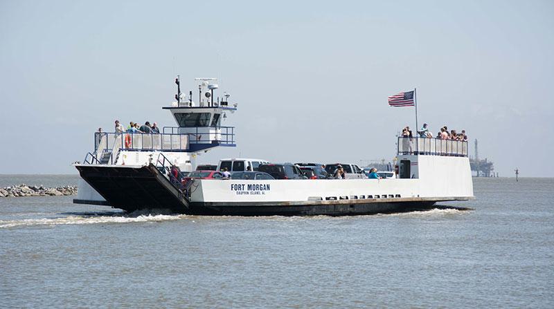 Fort Morgan Ferry