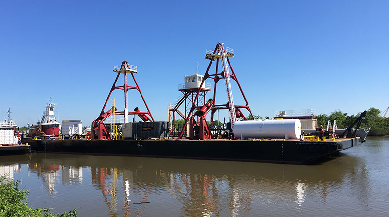 Great Lakes Dredge & Dock Spider Barge